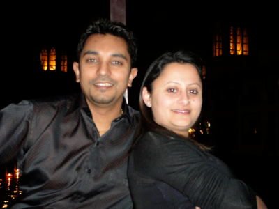 Sanjay in Dubai for Valentines