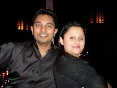 Sanjay in Dubai for Valentines