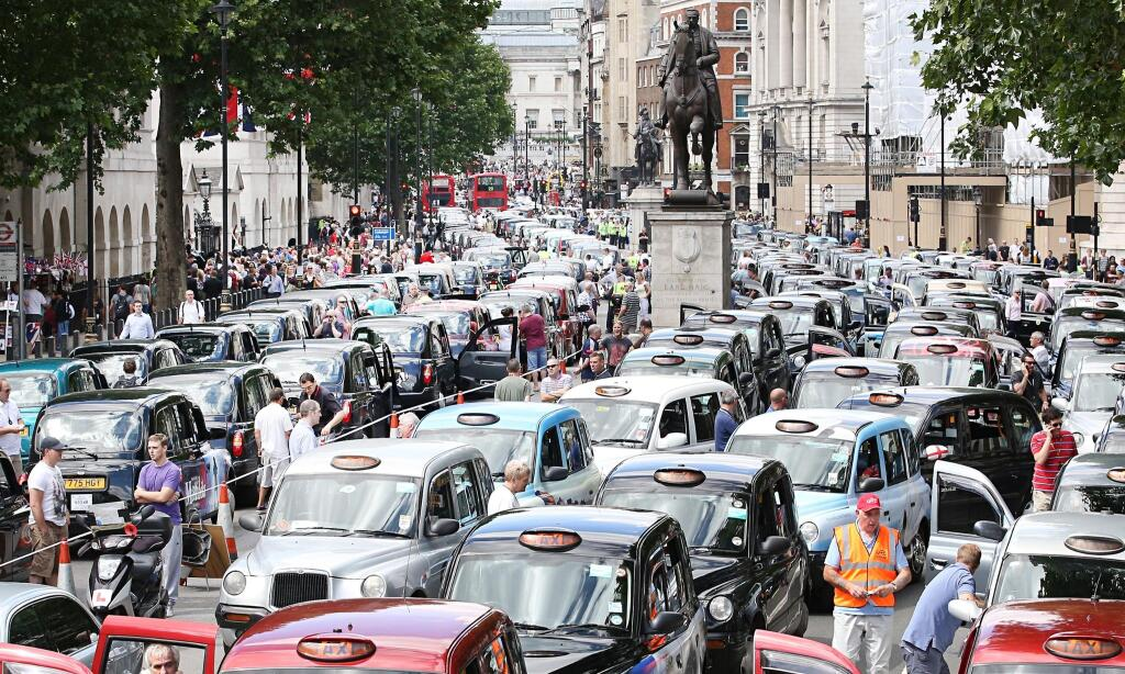 London's cabbies just gave Uber its biggest boost