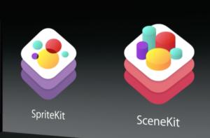 iOS8 Scene Kit Sprite Kit