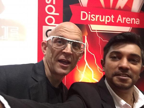 Sanjay Jadhav with Jason Bradbury